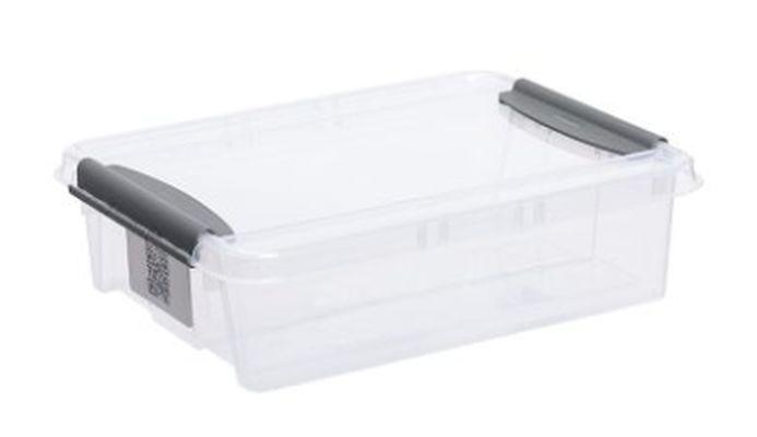 box  8,0l 390x290x108mm, klipsy, plast