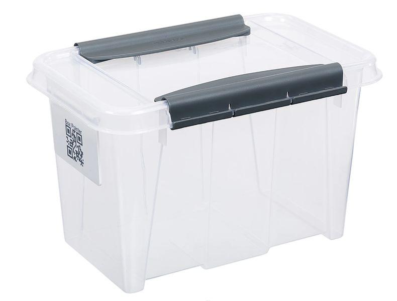 box  6,0l 195x290x185mm, klipsy, plast