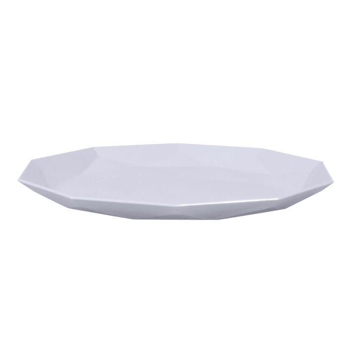 talíř 26,0cm, 8hran SKAGEN, 3barvy, plast