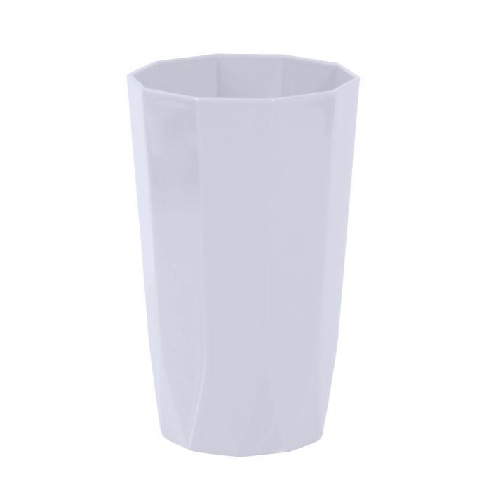 kelímek  8x13,5cm, 8hran SKAGEN, 3barvy, plast