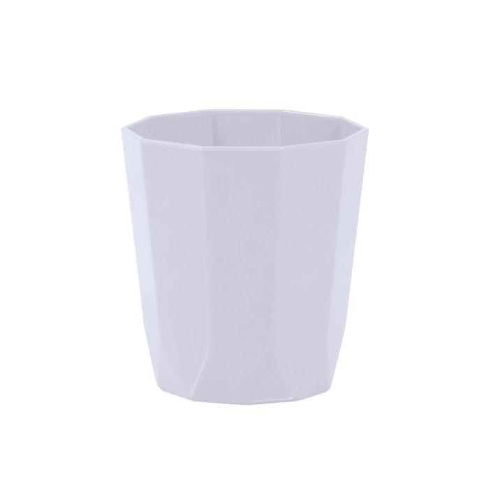 kelímek  8x 9,0cm, 8hran SKAGEN, 3barvy, plast