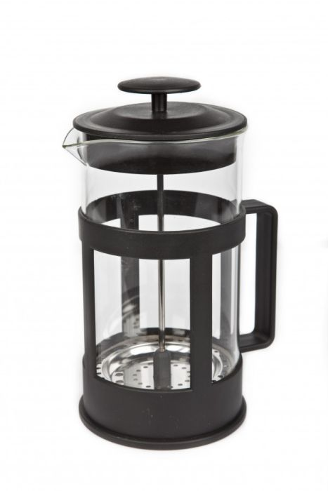 konvice 1,0l NERO, COFFEE MAKER, sklo+plast