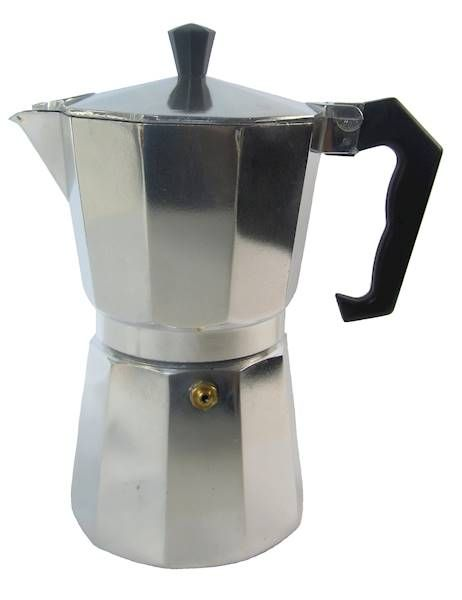 kávovar 300ml  3porcový, hliník