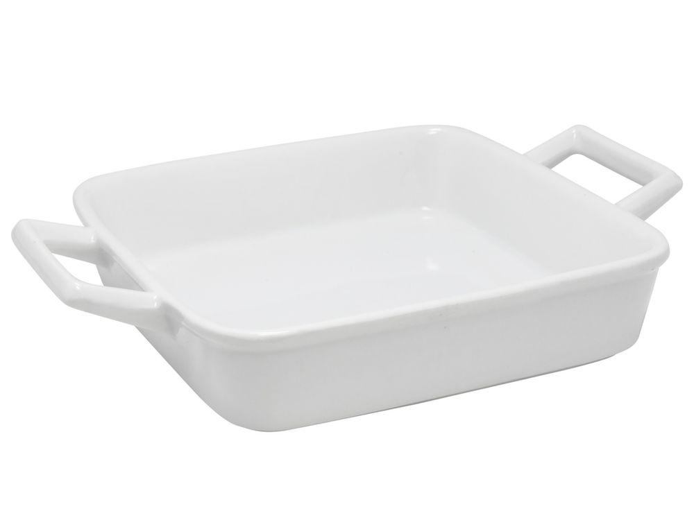 miska 1ks 14x14cm, bílá zapék., porcelán