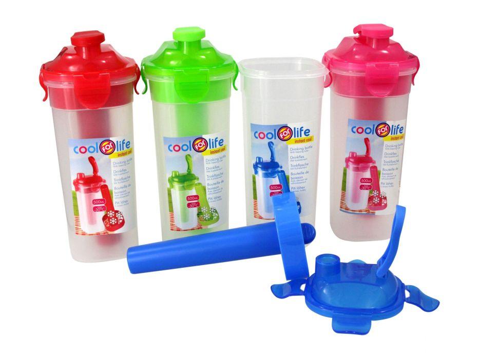 láhev 0,5l COOL LIFE s chlad,vložkou, nápitka, plast