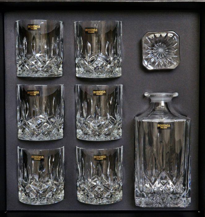 karafa 1+6ks 300ml whisky CLASSICO whisky BOH.POL.
