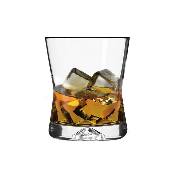 sklen. 290ml, 6ks, CASUAL/X-LINE, whisky, sil.stopka
