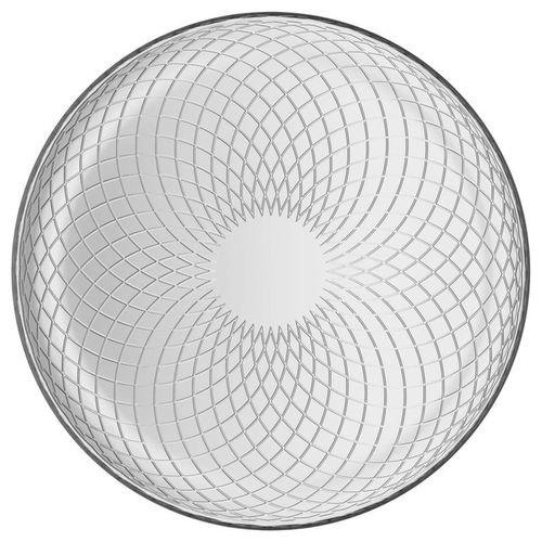 talíř d30cm, ELINA, TREND, křížky, sklo