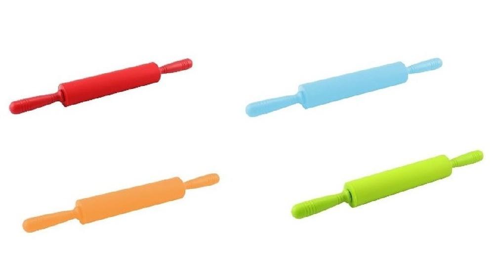 válek d53x480mm-MIX barev,SILIKON, plast.rukojeť