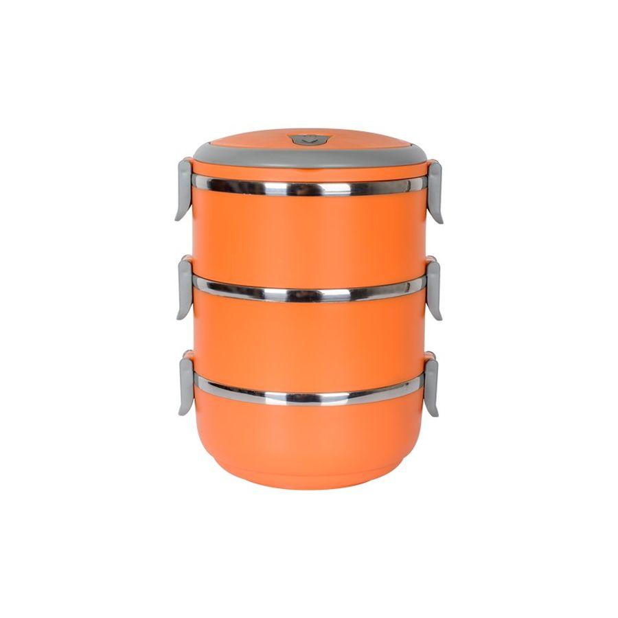 jídlonosič 3x0,7l oranž.TERMO