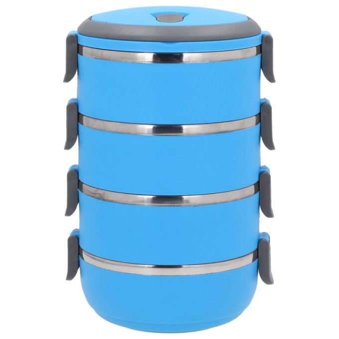 jídlonosič 4x0,7l modrý TERMO