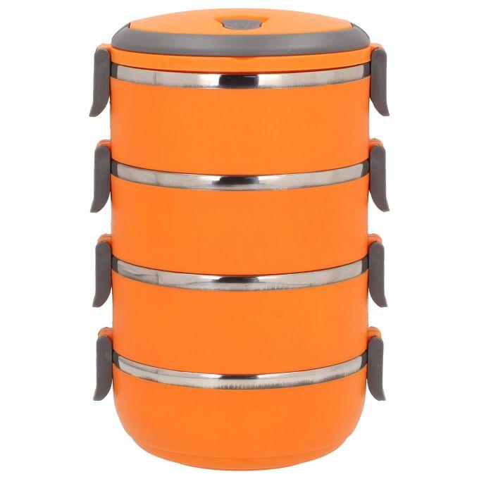 jídlonosič 4x0,7l oranž.TERMO