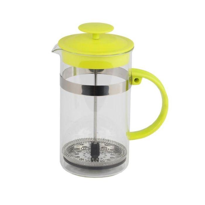 konvice 1,0l ZELENÁ, COFFEE MAKER, sklo+plast