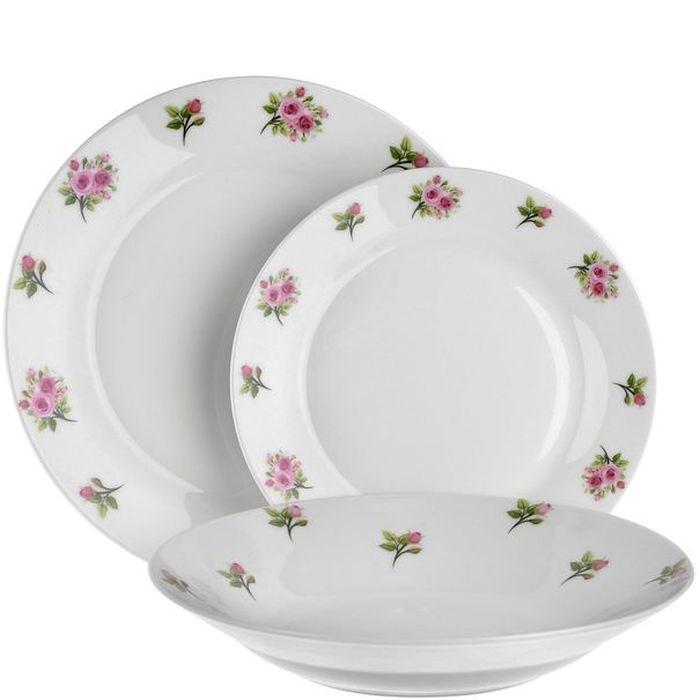soupr.18díl.jídelní AURA dec. Květy, porc.