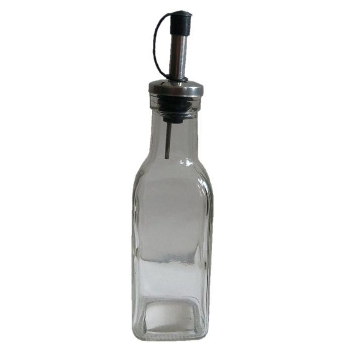 láhev 190ml hran.na ocet/olej s nálevkou