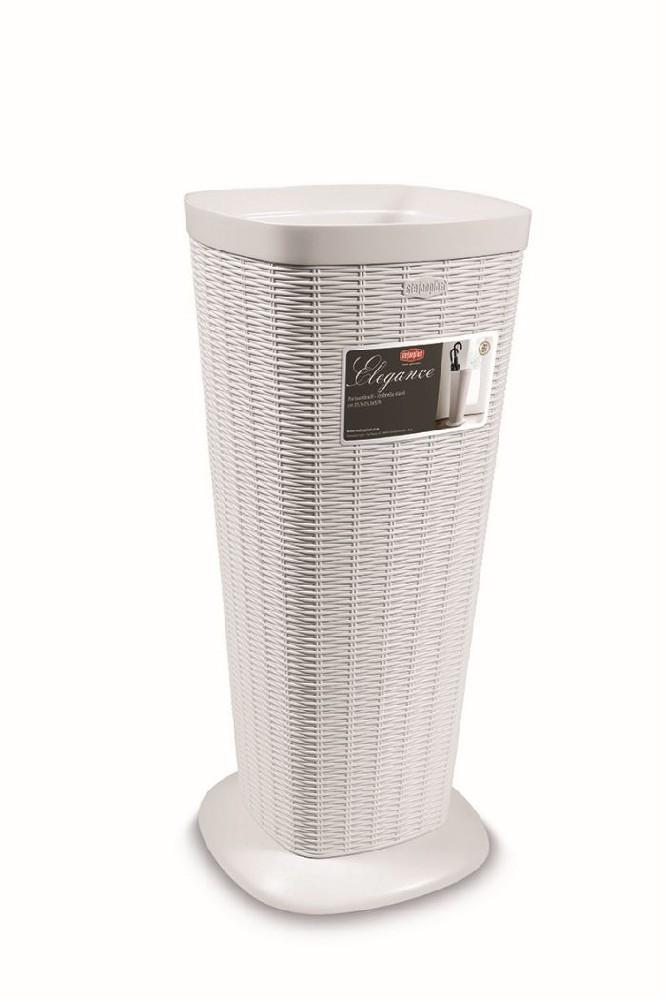 stojan na dešt.bílý ratan, 57x25,5x25,5cm,ELEG.