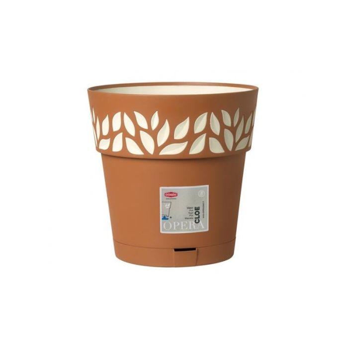 květ. d15xh15cm TERA/vanila CLOE+miska