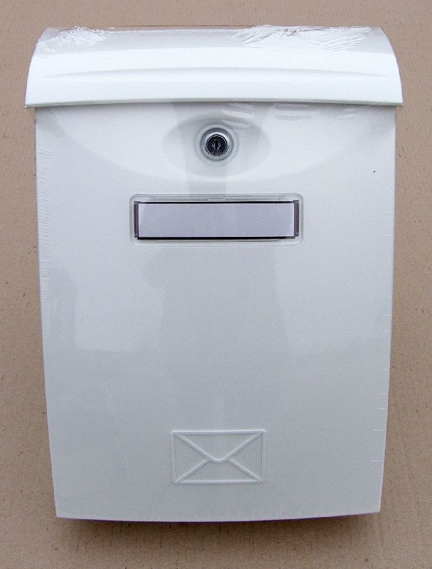 schránka ABS poštovní bílá 240x345x102