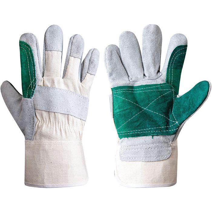 rukavice PES+PVC jednobar., 4barvy,zahradní