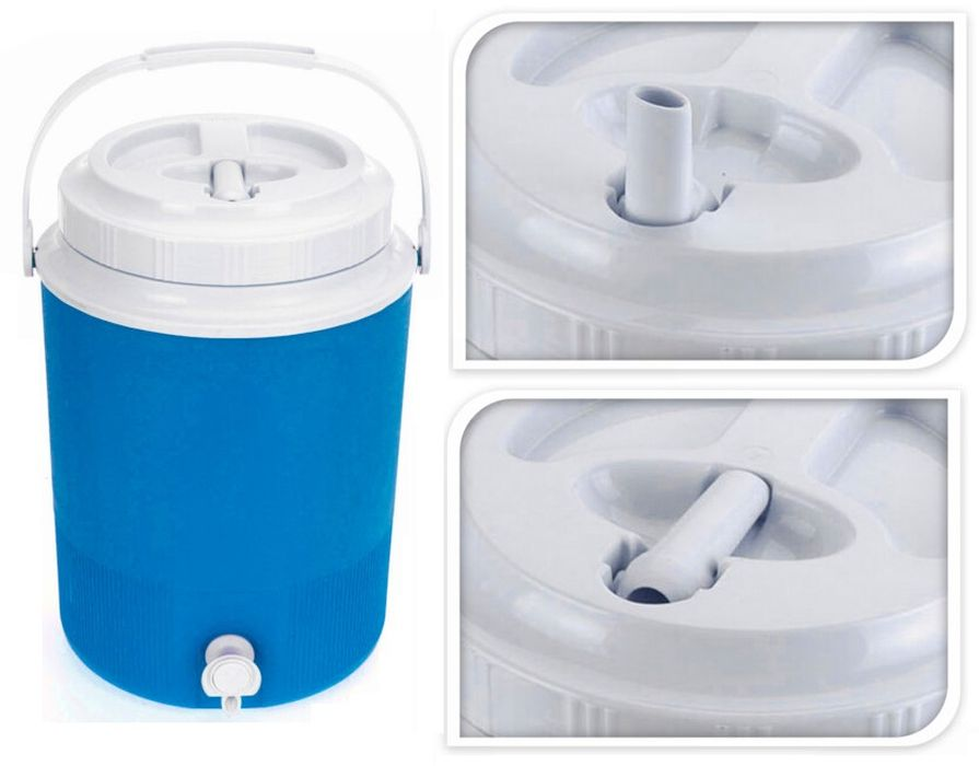nádoba na vodu termo 7,5l, 25x25x34cm, s kohoutem