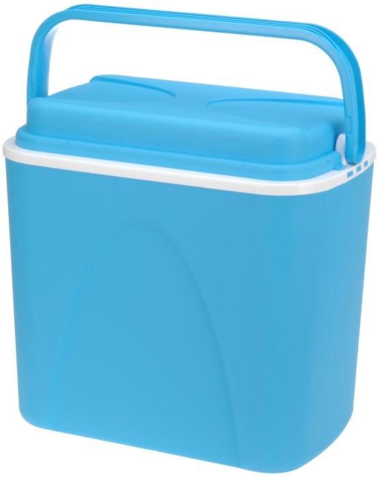box 24,0l chladící 37x25x37cm bledě modrý, plast