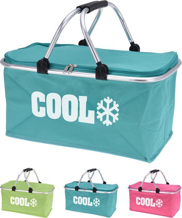taška 32,0l chladící, 48x28x24cm, sklád,.Al rám,3barvy