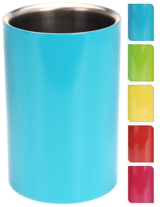 chladič na víno,sekt barev.NR, d12x18cm válec