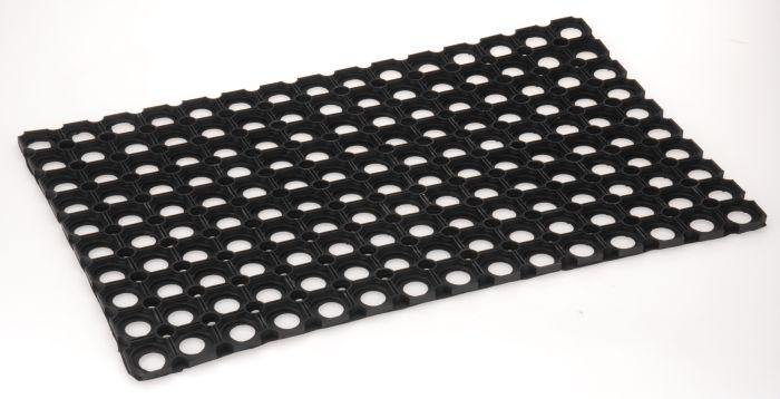 rohož  60x40cm děrovaná,guma