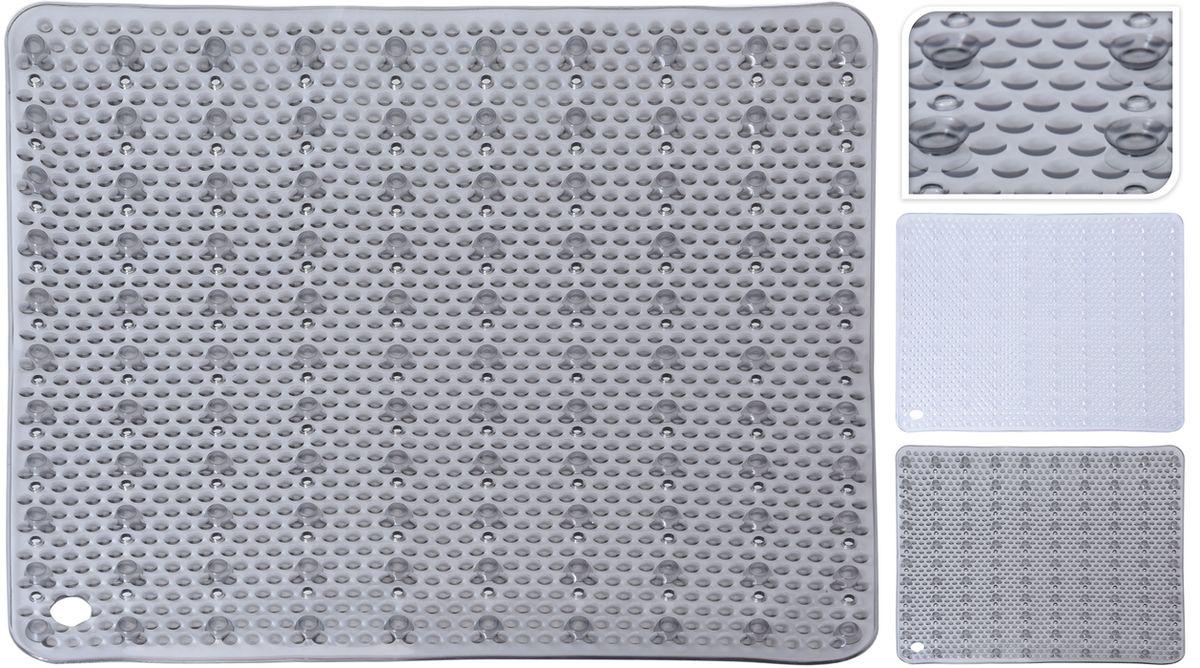 podložka 52x52cm sprchová, 2druhy, transp.