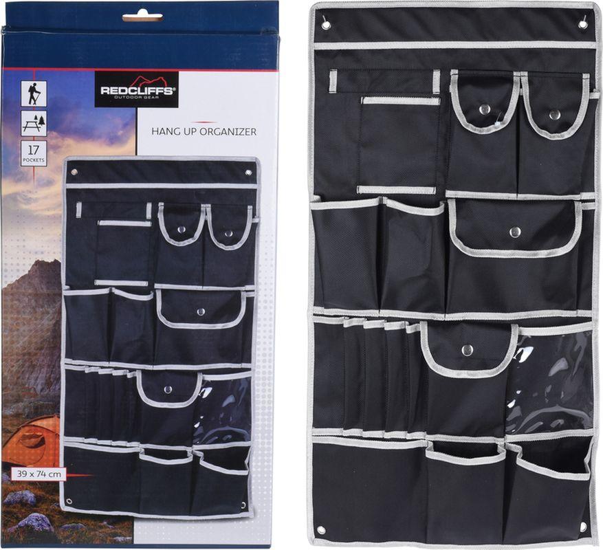 kapsář 74x39cm, černý pevný textil