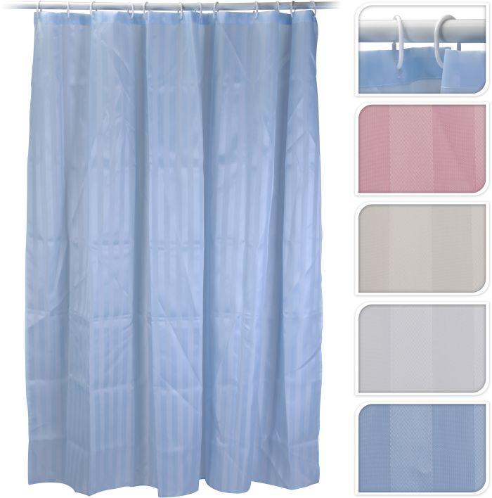závěs 180x180 PES koupel.1barevný, 4barvy