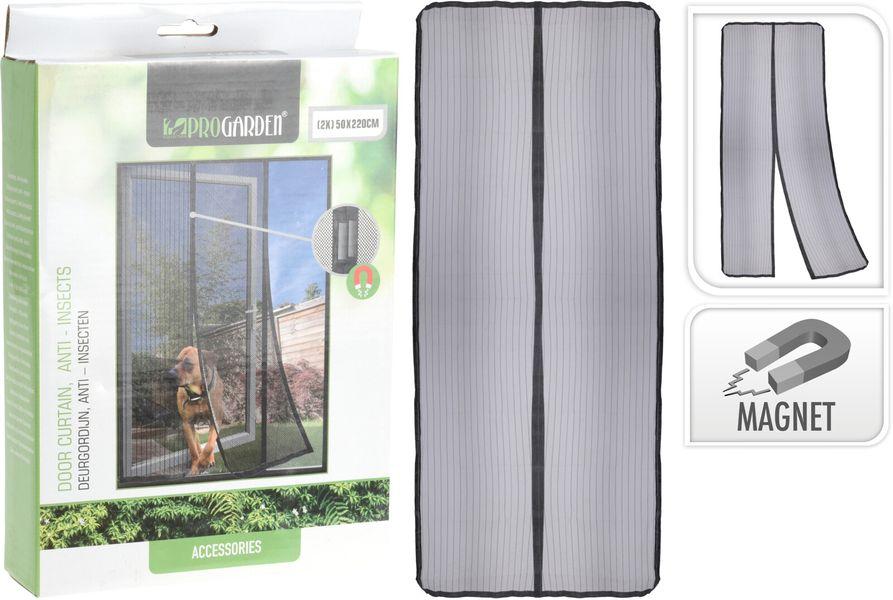 síť proti hmyzu 50x220cm, dveře, magnet, textil