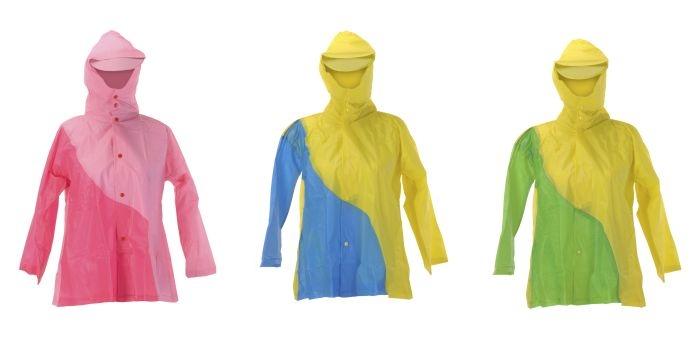 pláštěnka dětská dvoubarevná PLAST