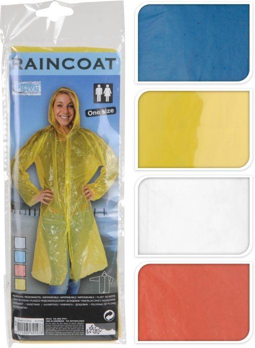 pláštěnka pro dospělé, 4barvy