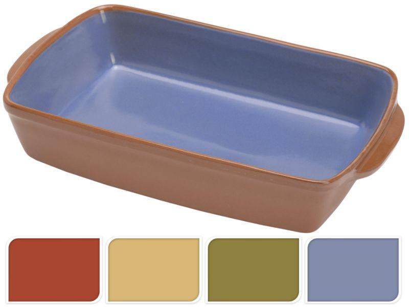 mísa 28x18x6,5cm(4barvy)zapék., keramika