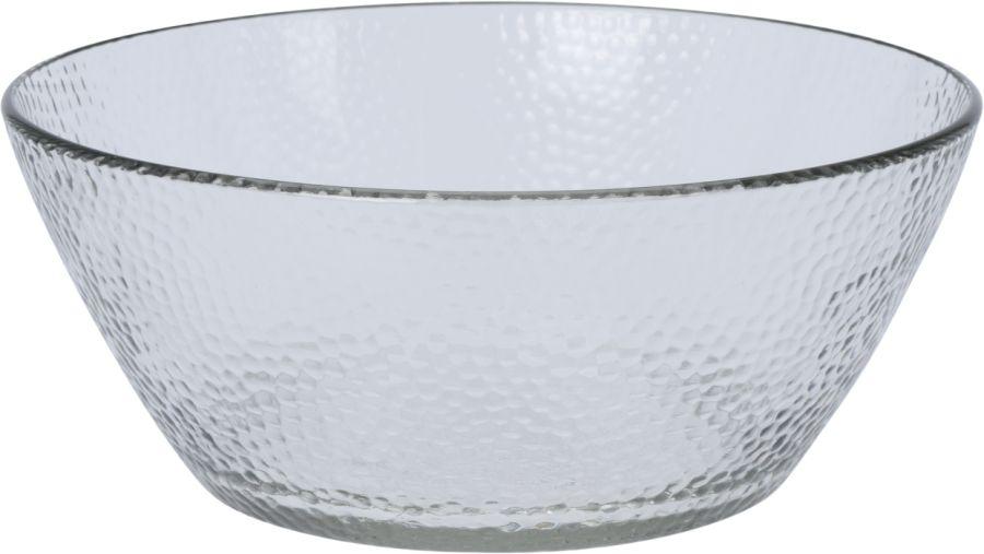 mísa d22x9cm salát, mačkané sklo