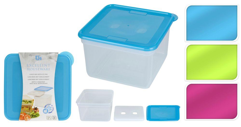 box na svačinu 15x15x10cm s chlad.vložkou