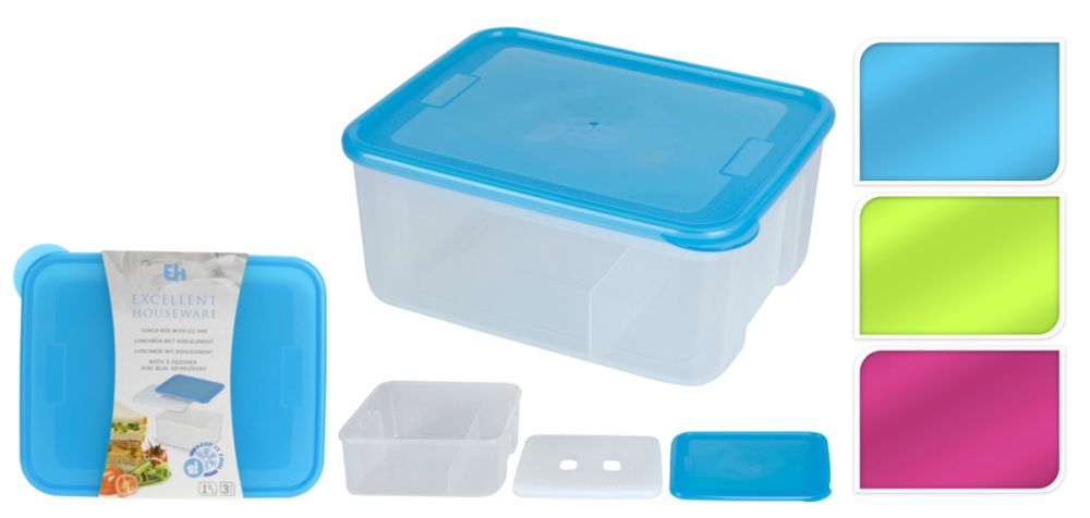 box na svačinu 19x15x8,5cm s chlad.vložkou
