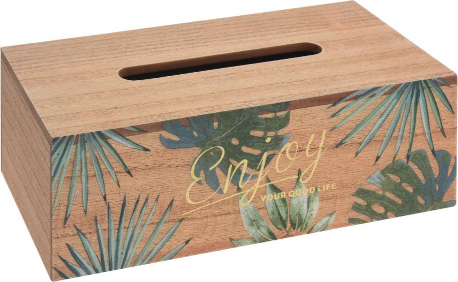 box papír.ubrousky 25x13x9cm, MDF, dřevo