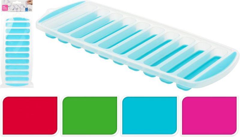 forma na led -10tyček, 4barvy, měkčené dno