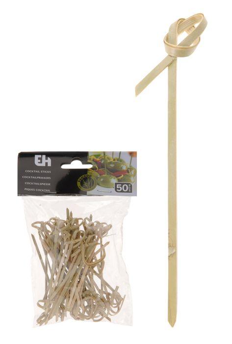 párátka 50ks, kroucená, bambus