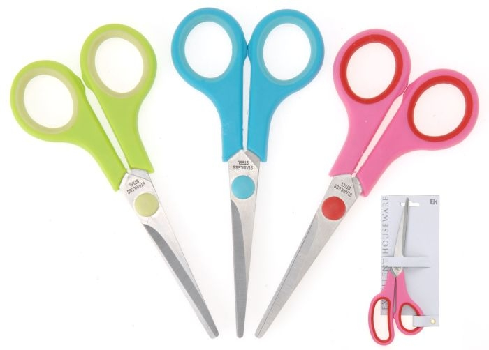 nůžky 14cm malé 3barvy  pro domác.