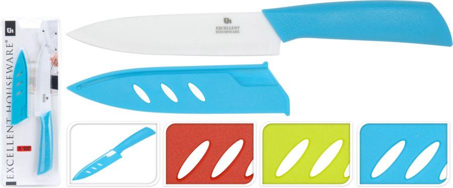 nůž 12,5cm keramický+kryt