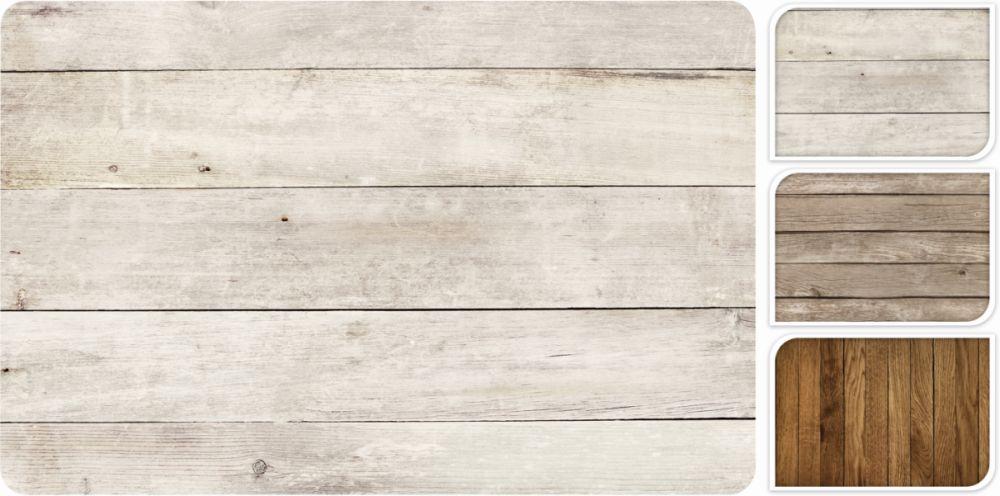 prostírání 43,5x28,5cm, dek.dřevo,  plast