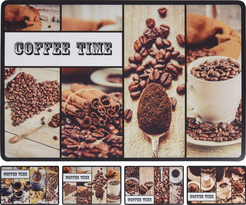 prostírání 43,5x28,5cm, 4druhy COFFEE
