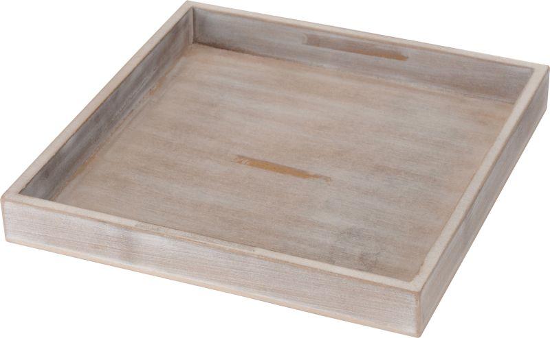 podnos 25x25cm, dekorační, dřevo