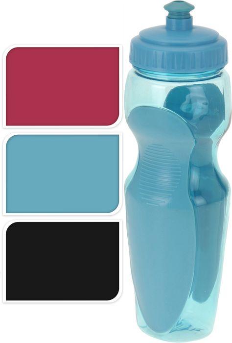 láhev 0,6l SPORT, s nápitkou, 3barvy, plast