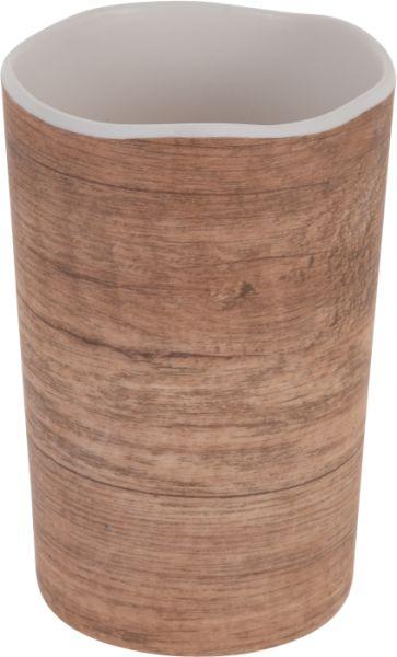 kelímek 0,5l, d8x11cm, im.dřeva, melamin