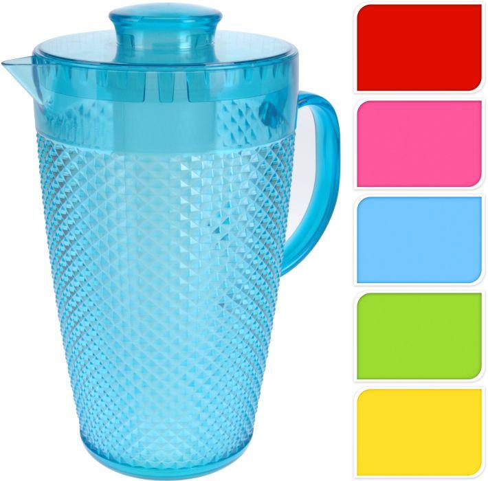 džbán 2,0l kónický s chlad.vložkou,plast