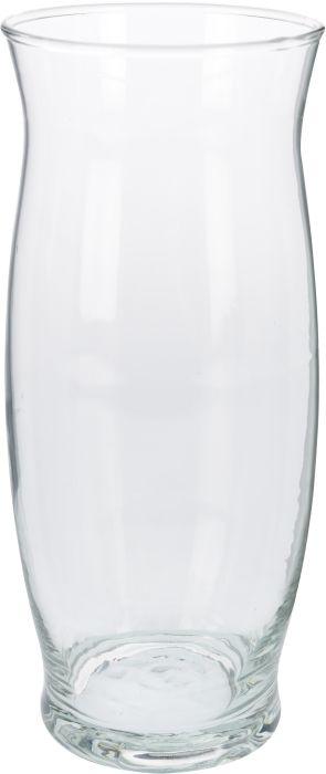 váza d11x25cm, oblá, sklo